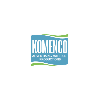 Design logo firma Komenko Advertising Material Productions