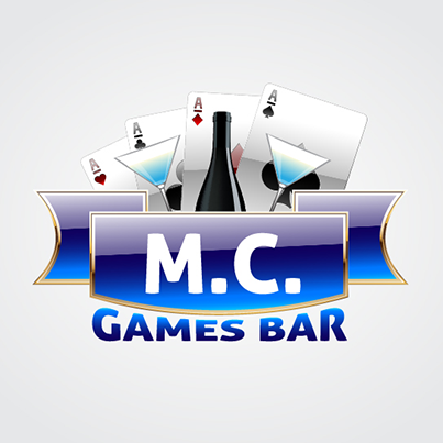 Design logo firma MC Games Bar