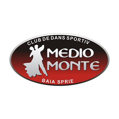 Design logo firma Medio Monte Club de Dans Sportiv