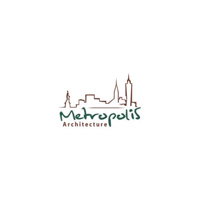 Design logo firma Metropolis Architecture