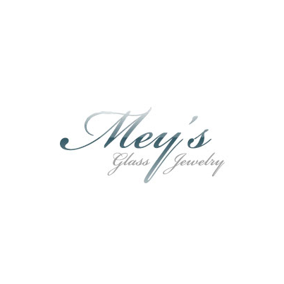 Design logo firma Mey's Glass Jewelry