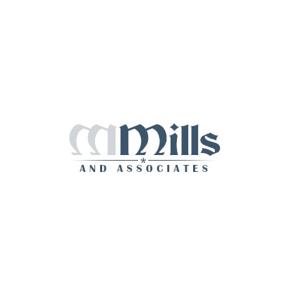 Design logo firma Mills and Associates
