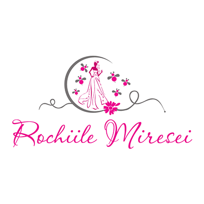 Design logo firma Rochiile Miresei