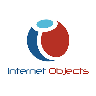 Design logo firma software Internet Objects