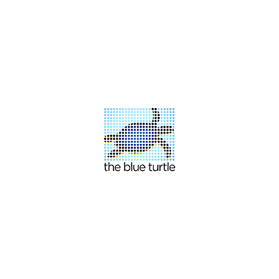 Design logo firma The Blue Turtle