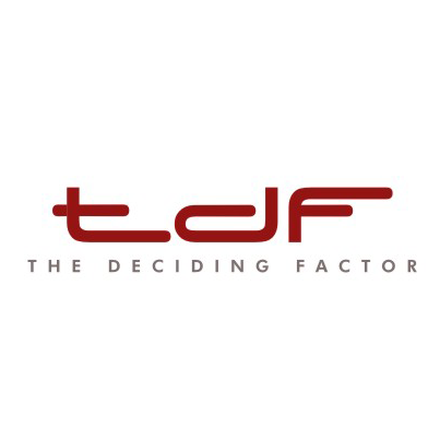 Design logo firma The Deciding Factor