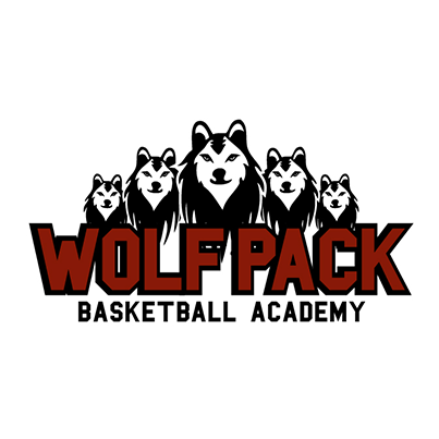 Design logo firma Wolf Pack Basketball Academy