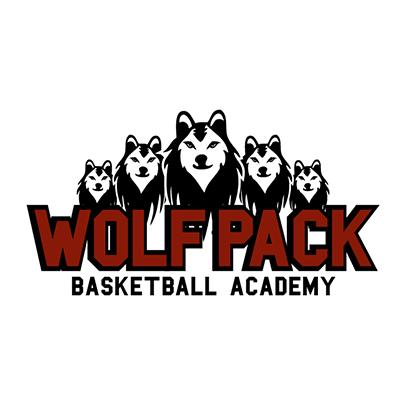 Design logo firma Wolf Pack Basketball Academy