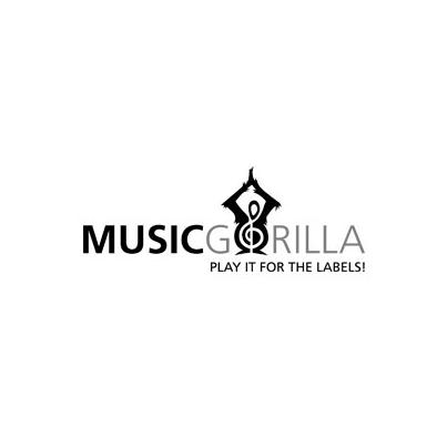 Design logo realizat pentru site de artisti independenti – Music Gorilla