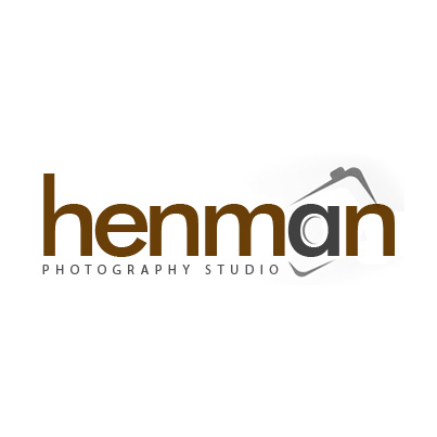 Design logo studio fotografie Henman Photography Studio