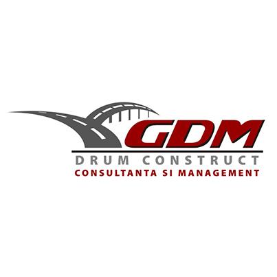 Emblema firma consructii de drumuri GDM Drum Construct