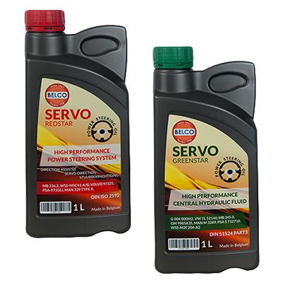 Design etichete lichid hidraulic - poducator lubrifianti auto si industriali Belco