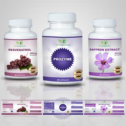 Realizare etichete suplimente nutritive Prozyme