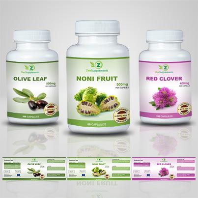 Design etichete suplimente nutritive Noni Fruit