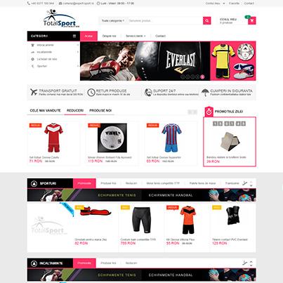 Design site comert  online - Expert Sport