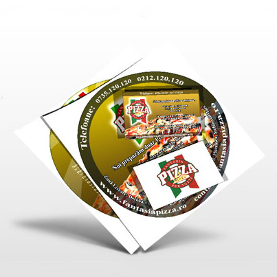 Brosura CD Fantasia Pizza