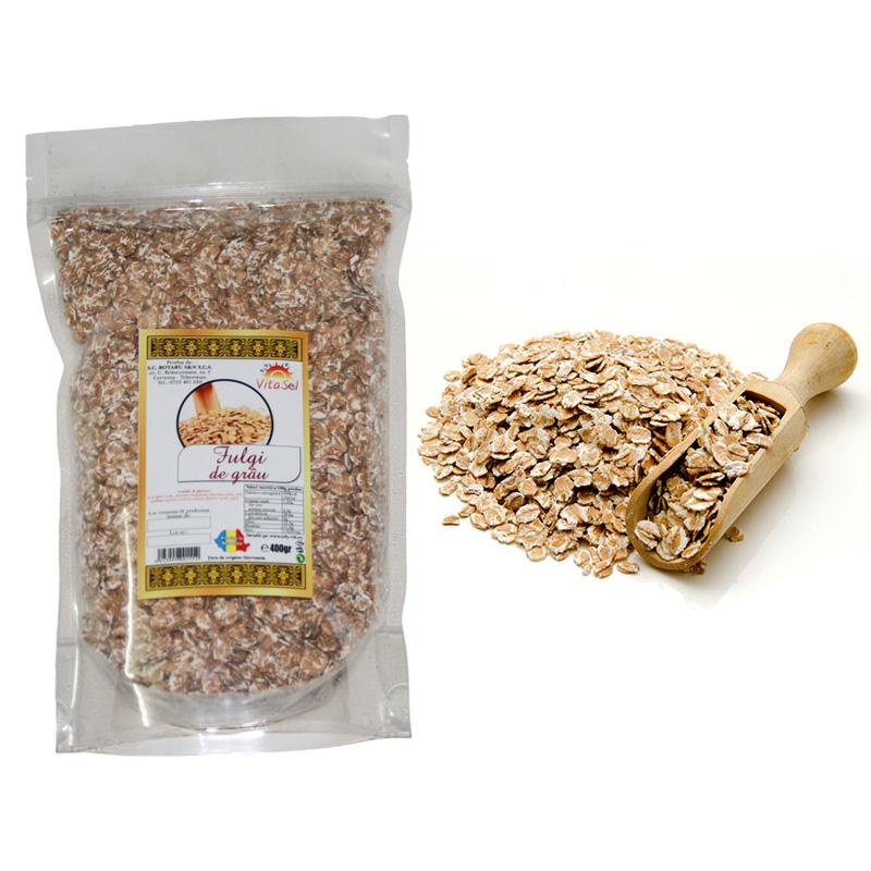 Design eticheta producator fulgi cereale - grau - Vita Sol