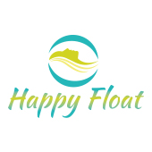 Design logo salon terapie prin plutire - Happy Float