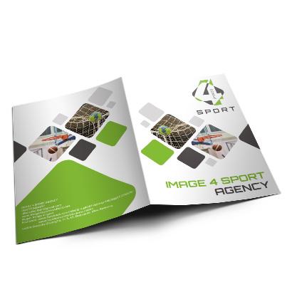 Design identitate companie agentie management sportiv - Image4Sport