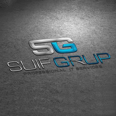 Concept Design Logo 3D realizat pt compania IT Suif Grup