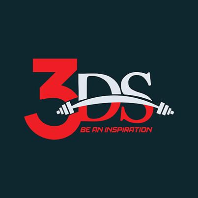 Design logo sala fitness - 3DS