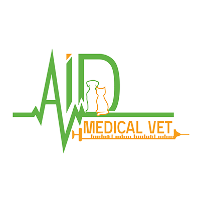 Design logo cabinet medical veterinar Aid Medical Vet