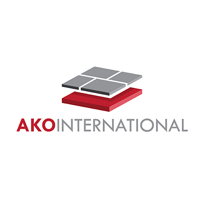 Design logo producator materiale de constructii - Ako International