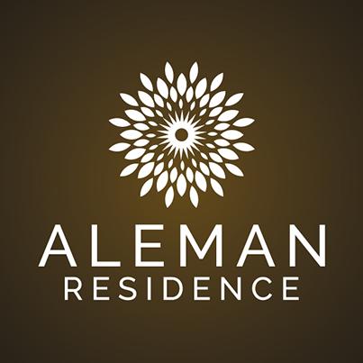 Design logo hotel - Aleman Residence