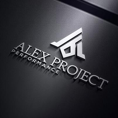 Design logo 3D firma instalatii industriale - Alex Project Performance