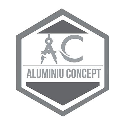 Design logo producator tamplarie aluminiu - Aluminiu Concept