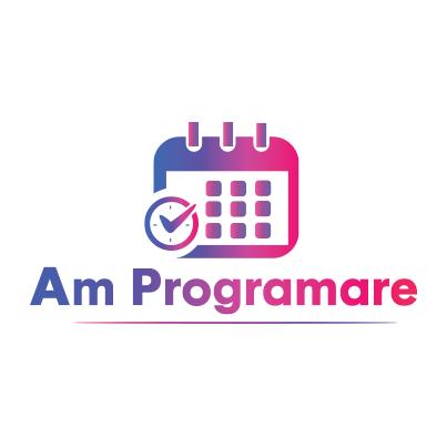 Design logo aplicatie programari online - Am Programare