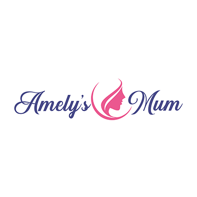 Design logo magazin online articole maternitate - Amelys Mum