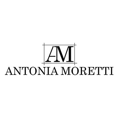 Design logo magazin ecommerce genti piele marca Antonia Moretti