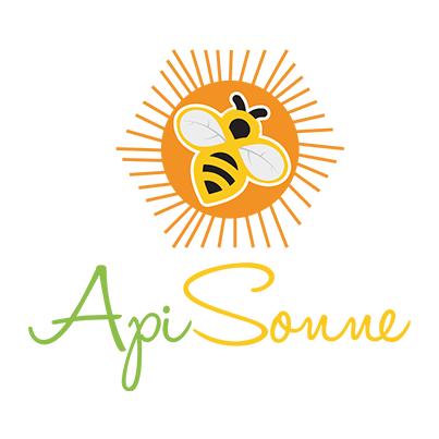 Design logo producator miere de albine si produse apicole - Api Sonne