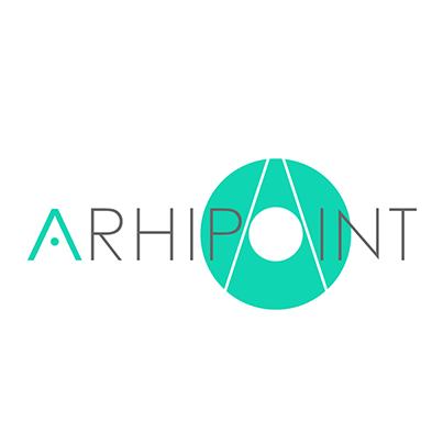 Design logo studio de arhitectura - Arhipoint Management