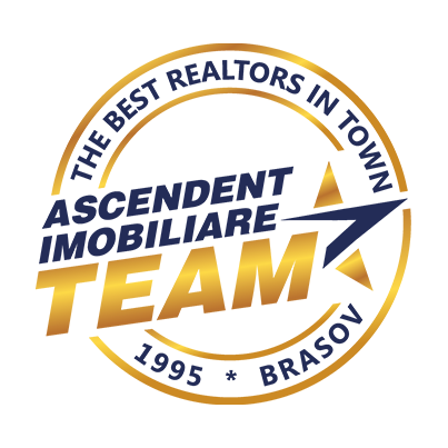 Design logo agentie imobiliara - Ascendent Imobiliare Brasov