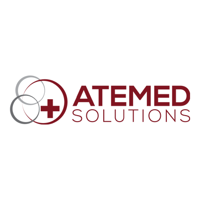 Design logo furnizor echipamente medicale - Atemed Solutions