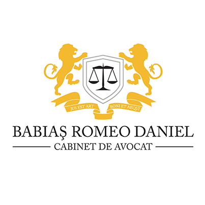 Design logo cabinet avocat - Babias Romeo Daniel