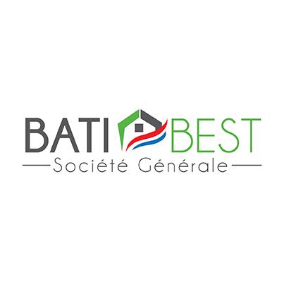 Design logo firma constructii - Bati Best Societe Generale