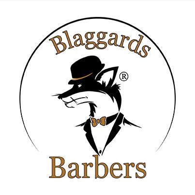 Design logo frizerie barbati - Blaggards Barbers