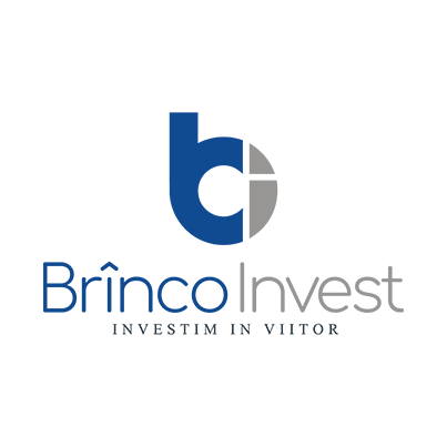 Design logo dezvoltator imobiliar - Brinco Invest