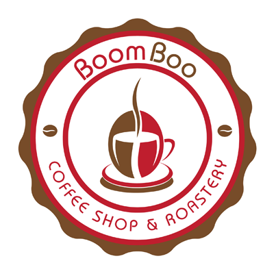 Design logo cafenea - Boom Boo