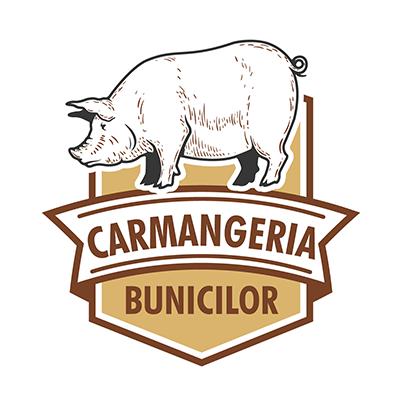 Design logo carmangerie - Carmangeria Bunicilor