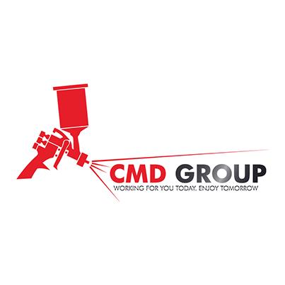 Design logo distribuitor consumabile auto - CMD Group