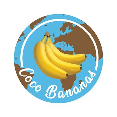 Design logo importator fructe - Coco Bananas