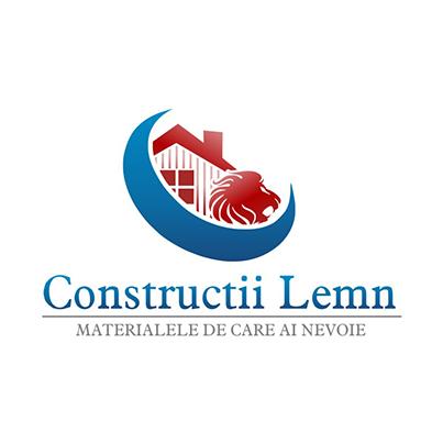 Logo comerciant materiale de constructii Constructii Lemn