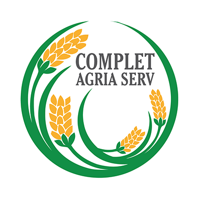 Design logo firma comert si achizitii cereale - Complet Agria Serv