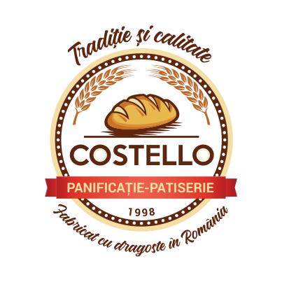 Design logo brutarie patiserie - Costello