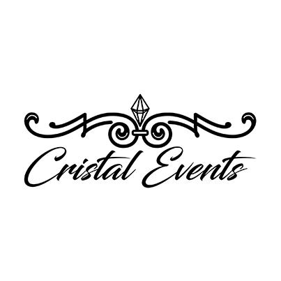 Design logo organizator evenimente - Cristal Events