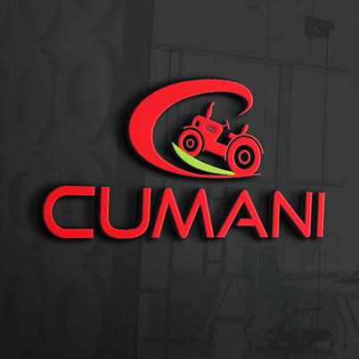 Design logo 3D servicii agricultura - Cumani